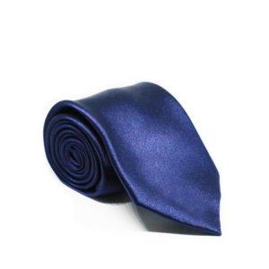 Μεταξωτή γραβάτα μονόχρωμη χειροποίητη BR204