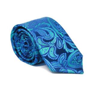 Μεταξωτή γραβάτα λαχούρι χειροποίητη G103