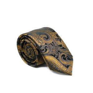 Mεταξωτή γραβάτα λαχούρι χειροποίητη G105