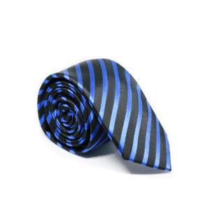 Μεταξωτή γραβάτα ριγέ G108