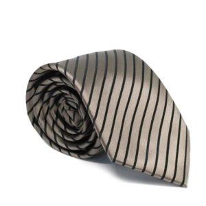 Μεταξωτή γραβάτα ριγέ G110