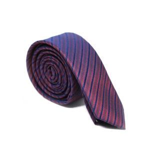 Μεταξωτή γραβάτα ριγέ G111