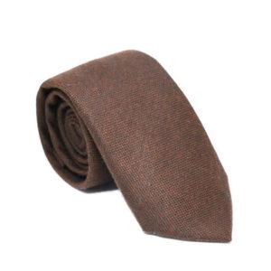 Μάλλινη γραβάτα μονόχρωμη χειροποίητη G135