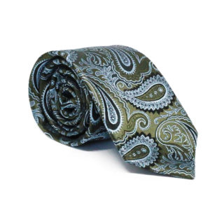 Μεταξωτή γραβάτα λαχούρι χειροποίητη G137
