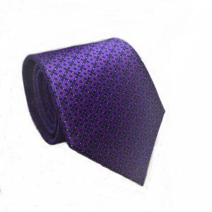 Μεταξωτή γραβάτα με βούλες IT808