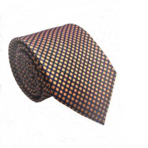 Μεταξωτή γραβάτα με βούλες IT814