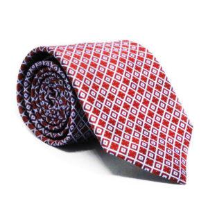 Mεταξωτή γραβάτα καρό IT801