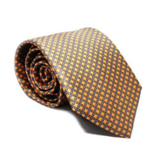 Μεταξωτή γραβάτα καρό IT802