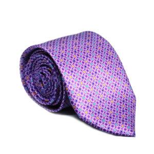 Μεταξωτή γραβάτα με βούλες IT803