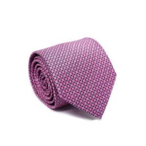 Μεταξωτή γραβάτα με βούλες IT809