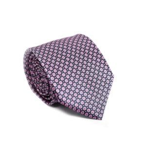 Μεταξωτή γραβάτα με βούλες IT810