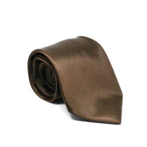 Μεταξωτή γραβάτα μονόχρωμη χειροποίητη IT816