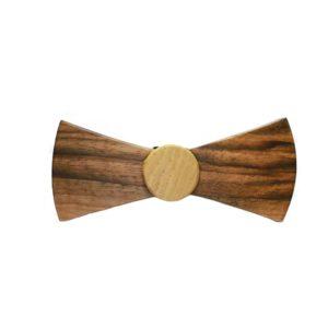 Ξύλινο παπιγιόν χειροποίητο B507