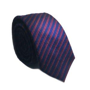 Μεταξωτή γραβάτα ριγέ NE901