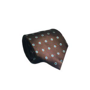Μεταξωτή γραβάτα με βούλες OT955