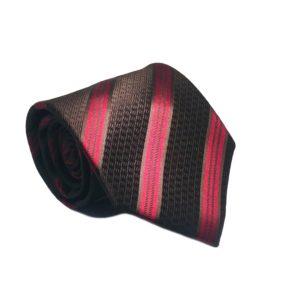 Μεταξωτή γραβάτα με κάρο OT962